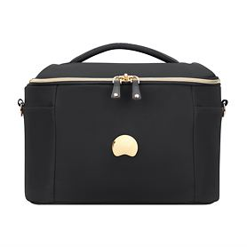 Delsey Montrouge, 25 cm, Beauty Case, schwarz