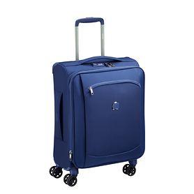 Delsey Montmartre Air 2.0, 55 cm, Trolley, Blau, 4 Rollen, Kabinengepäck,