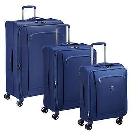 Delsey Montmatre Air 2.0 Trolleys, Blau, 4 Rollen