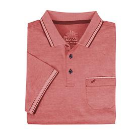 Herren-Poloshirt Daniel rot, Gr. XXL