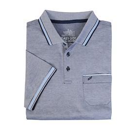 Herren-Poloshirt Daniel navy, Gr. XXL