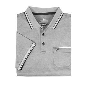 Herren-Poloshirt Daniel grau, Gr. L