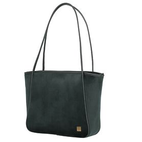 TITAN Barbara Velvet, Shopper, forest green
