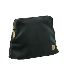 TITAN Barbara Velvet, Cosmetic Bag, forest green