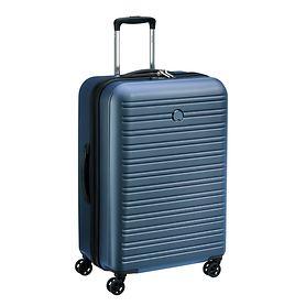 Delsey Segur 2.0, 70 cm, Trolley, Blau, 4 Rollen