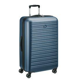 Delsey Segur 2.0, 78 cm, Trolley, Blau, 4 Rollen