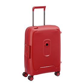 Delsey Moncey, 55 cm, Trolley, Rot, 4 Rollen