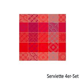 Servietten Mille Tiles 4 Stk