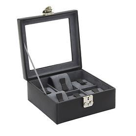 Image of Uhrenschatulle für 6 Uhren mit Glaseinsatz