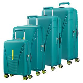 American Tourister Skytracer Trolleys, Spring Green,  4 Rollen