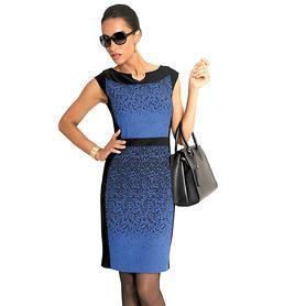 Kleid Blue royalblau/schwarz Gr. 36