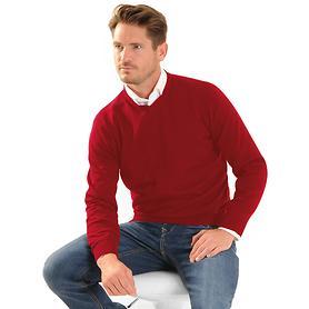 Pullover Marvin rot Gr. XXL