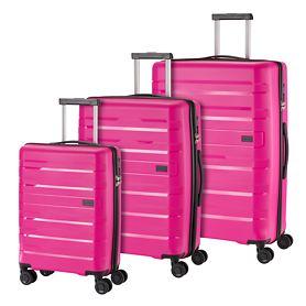 travelite Kosmos Trolleys, pink, 4 Rollen