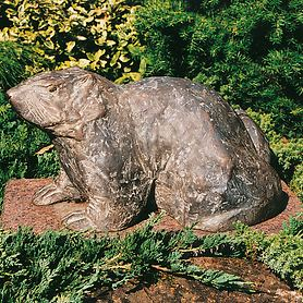 Skulptur Murmeltier