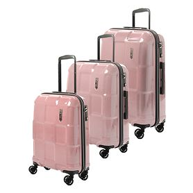 EPIC CRATE REFLEX Trolleys, Crystal Rose, 4 Rollen