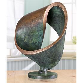 Skulptur Möbiusschleife