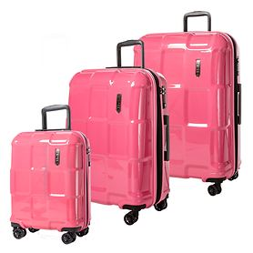 EPIC CRATE EX SOLIDS Trolleys, Strawberry Pink, 4 Rollen