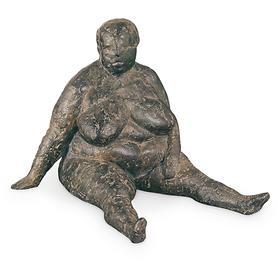 Skulptur Sitzende von Anette Mürdter