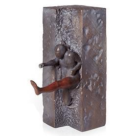 Skulptur Der Springer von Jörg Bollin