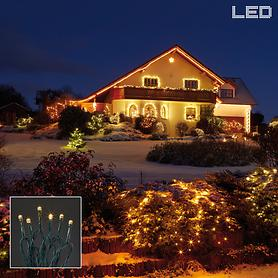 LED-Lichterketten, steuerbar per Fernbedienung oder App