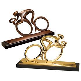 Skulptur Radler von Torsten Mücke
