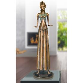 Skulptur Tänzerin im Blumenkleid von Paul Wunderlich