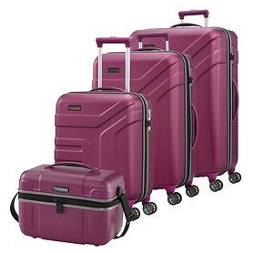 travelite Vector Trolleys, Pflaume, 4 Rollen