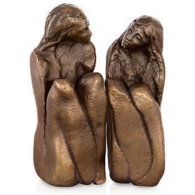 Skulptur 'Freundinnen' 2-tlg. von Maria-Luise Bodirsky