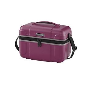 travelite Vector, 27 cm, Beautycase, Pflaume