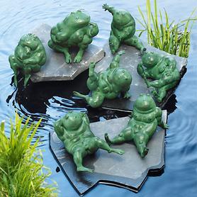 Skulpturen Frosch