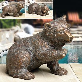 Bronze-Skulpturen Eisbär