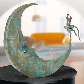 Skulptur Danse avec la Lune von Agnès Boulloche