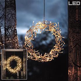 LED-Kranz Curly