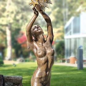Skulptur Sonne, Mond & Sterne