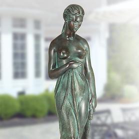 Skulptur Nach dem Bade