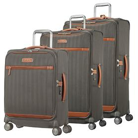 Samsonite Lite DLX Trolleys, dark olive, 4 Rollen
