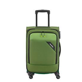 Trolley Derby, 55 cm, grün, 4 Rollen, Kabinengepäck
