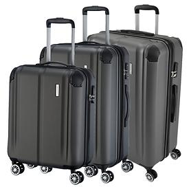 travelite City Trolleys, anthrazit, 4 Rollen