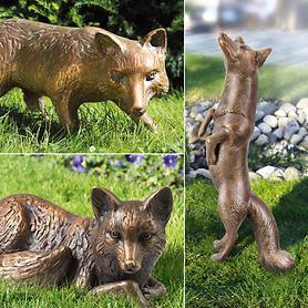 Skulpturen Fuchs