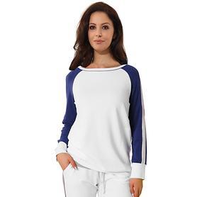 Shirt Lizzy weiß/navy Gr. 38