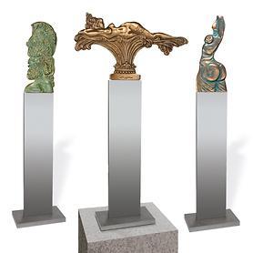 Ernst Fuchs Skulpturen-Set 3-tlg Hit, Idee 1674