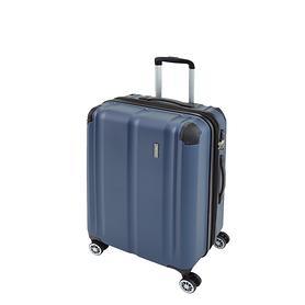 travelite City, 55 cm, Trolley, marine, 4 Rollen, Kabinengepäck
