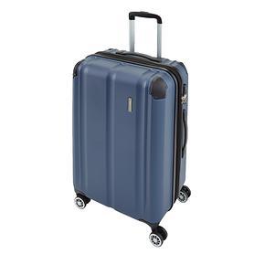 travelite City, 68 cm, Trolley, marine, 4 Rollen