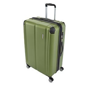 travelite City, 68 cm, Trolley, grün, 4 Rollen