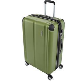 travelite City, 77 cm, Trolley, grün, 4 Rollen