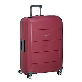 travelite Makro, 75 cm, Trolley, rot, 4 Rollen