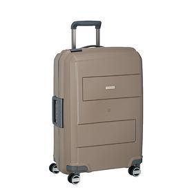 travelite Makro, 66 cm, Trolley, taupe, 4 Rollen
