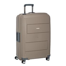 travelite Makro, 75 cm, Trolley, taupe, 4 Rollen