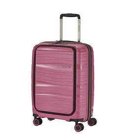 Travelite Motion, 55cm, mit Vortasche, bonbon, 4 Rollen, Kabinengepäck