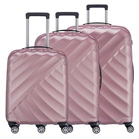 Titan Shooting Star Trolleys, rose, 4 Rollen
